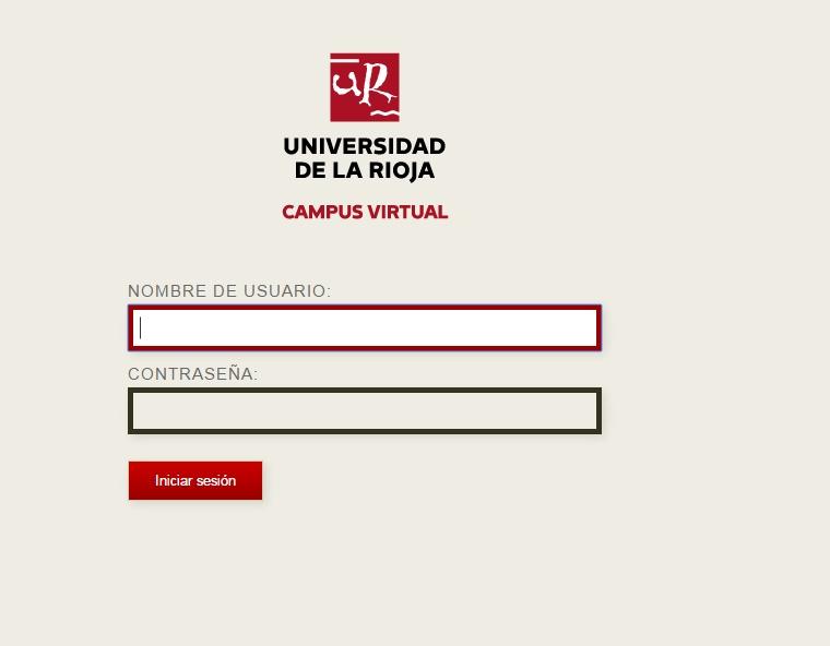campus virtual Unirioja