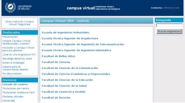 campus virtual uma