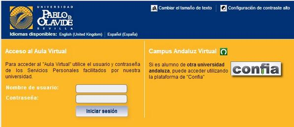 campus virtual UPO